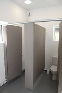 New Hall Toilets